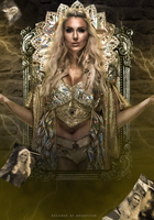 Charlotte Flair - Queen by Brightstar2003