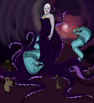 Poor, Unfortunate Souls by Buxom-Bunny