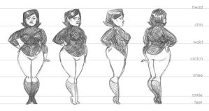Turnaround of a lady by katie8787