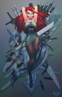 A Bed of Knives by Robaato