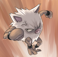 Primeape by Shinigami-GFX