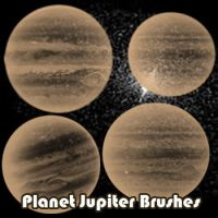 Planet Jupiter Brushes by remygraphics