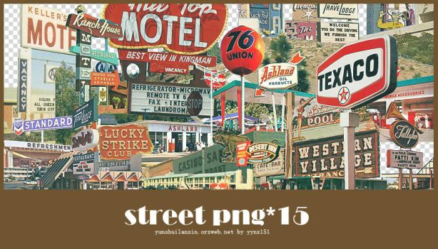 Street png pack #01 by yynx151