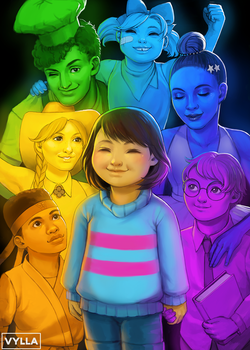 Undertale: The Seven Human Souls by Vylla