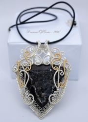 The Heart of Hades Pendant by DreamsOfGems
