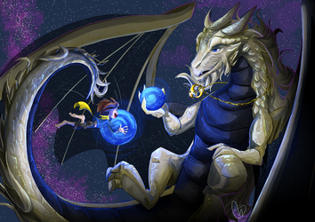 Universe Dragon by S-concept