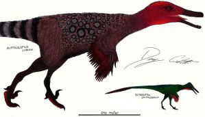 Austroraptor and Buitreraptor by Dennonyx