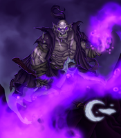 Ner'zhul, Weaver of the Void by Necro--Art
