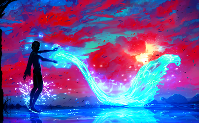 Water Elemental by ryky