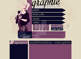 Christina Aguilera Layout by Lexigraphic