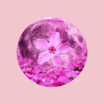 12 Full Moons 2018 - April - Pink Moon by Loupii