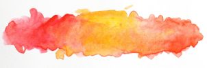 Watercolor title background (red and yellow) by JaBoJa