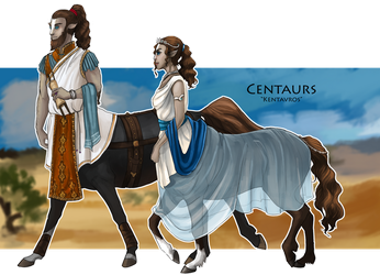 WoC races - Centaurs by Brissinge