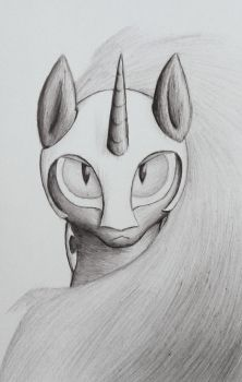 Gaze of a Queen by TunRae