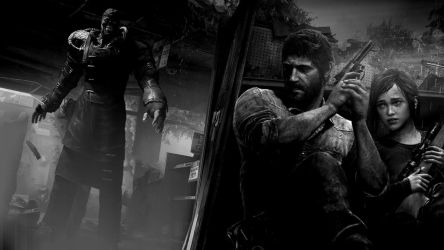 The Last of Us - Nemesis [Black and White] by FeralMess