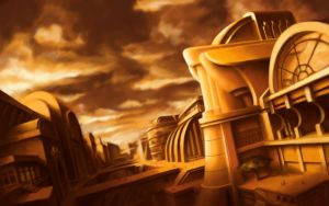 Golden City by ZackF