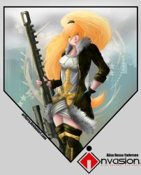 Invasion- Alise Resse Enderson by ArtFurry