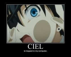 Demotes: Ciel by SunSnow