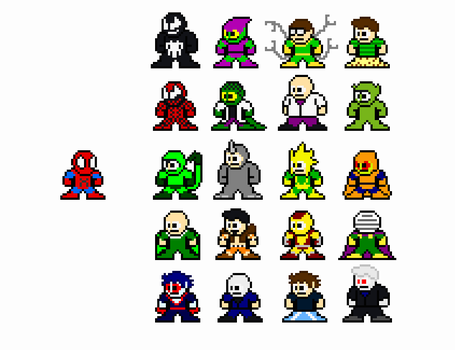 Spider-Rogues by FreakaJebus