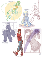 Sketchpile by CubeWatermelon