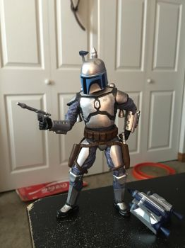 Star Wars Black Series Jango Fett custom Jetpack by ToaAntan