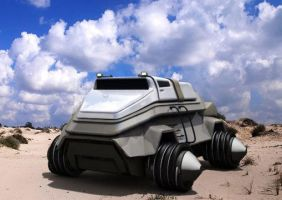 Tesh driven Sand-Rover by Dlordtesh