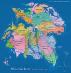 Mhad Su Tarre Political Map (Upd. September 2013) by Pyrosity