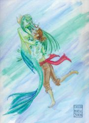 The Mermaid Question by lissa-quon
