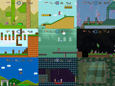 Super Mario Bros Doomsday Screenshots (Aug 2014) by BuzzNBen