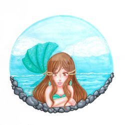 The Mermaid Pond by Juliana1121
