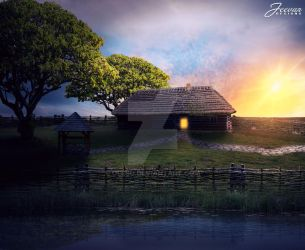 A Peaceful Place 2 by Olesu