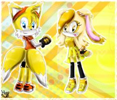 Teen Tails and Cream by Cometshina