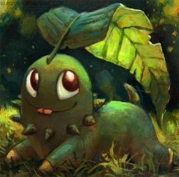Chikorita by kenket