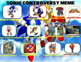 My Sonic Controversy Meme by Nintrendodude
