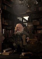 Goblin Library by 3dsquid
