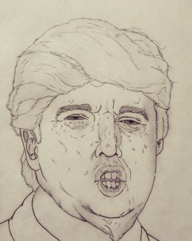 The Donald- 'Uge by johnpierson