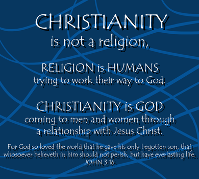Christianity is not a religion by Staceyk93