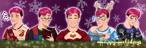 Holiday Banner [Sanders Sides] by TrebleSketchOfficial