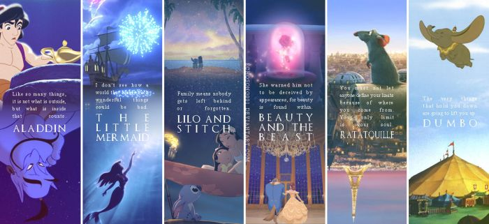 Disney Quotes Wallpaper I by echosong001