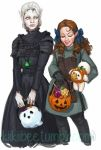 commission. Changeling Halloween by kiikii-sempai