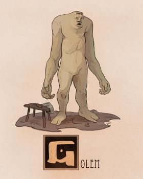 G is for Golem by Deimos-Remus