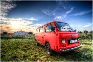 Old School Van by thesolitary