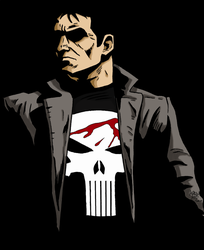 Frank Castle by AndysComicArt
