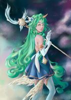 Star Guardian Soraka by CountessDeCreppe