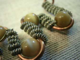Doctor twitch rg deviantart initial coiled cats eye pendant by doctor twitch mozeypictures Choice Image