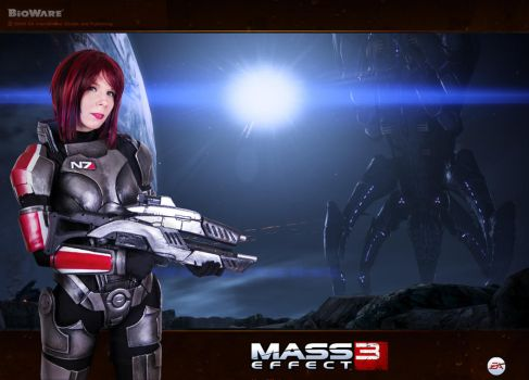 Mass Effect N7 cosplay by YurikoSeira