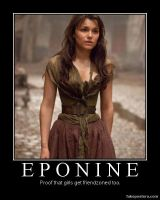 Friendzoned Eponine by Claryana
