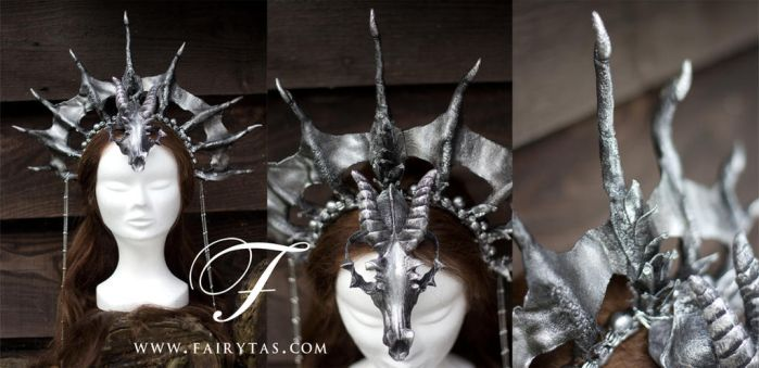 Dragon Priestess headdress by Fairytas