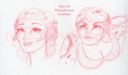 Day 29_Thundercat-Candice by WimpleToad
