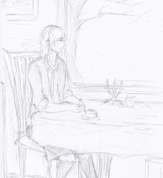 Cafe time by HakuRyoun